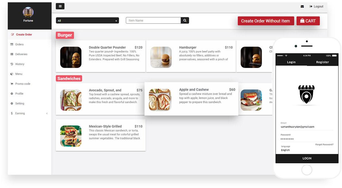 FoodPanda Clone, FoodPanda Clone Script App Source Code