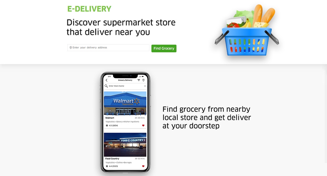 home delivery software